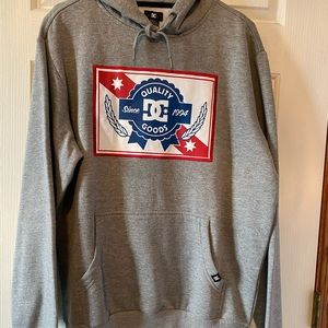 NWT DC Grey Pullover Hoodie